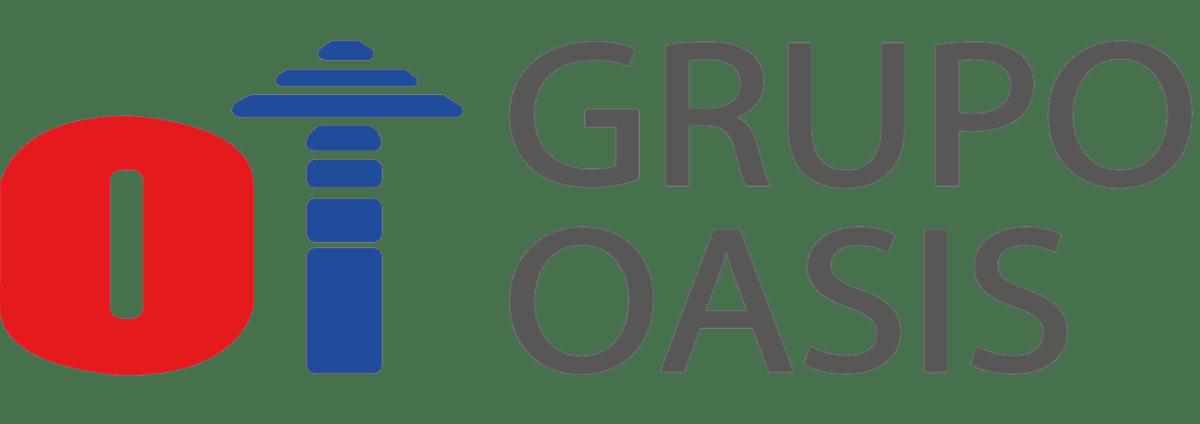grupo oasis logo gris