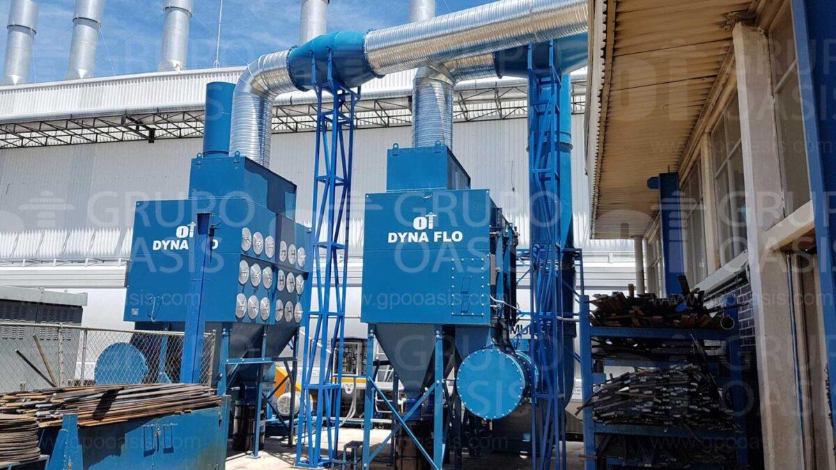 colectores de polvo humo y neblinas Sistemas de ventilación industrial Ventilador centrífugo
