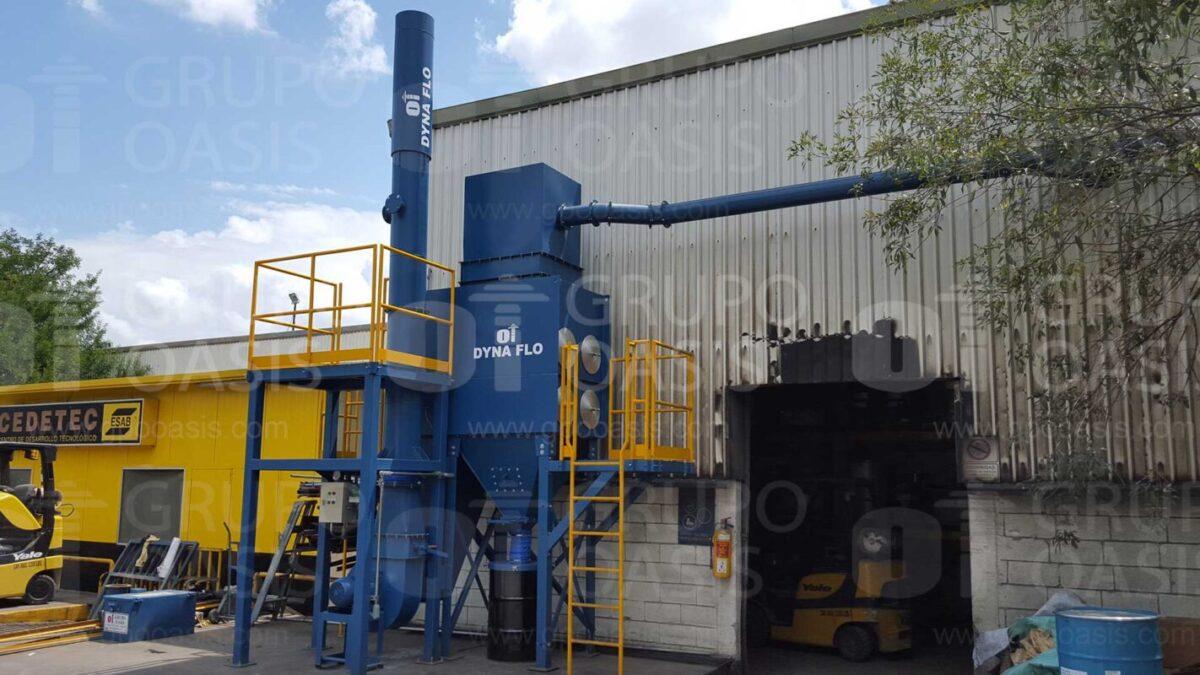 colectores de polvos industriales humo y neblinas extractores industriales