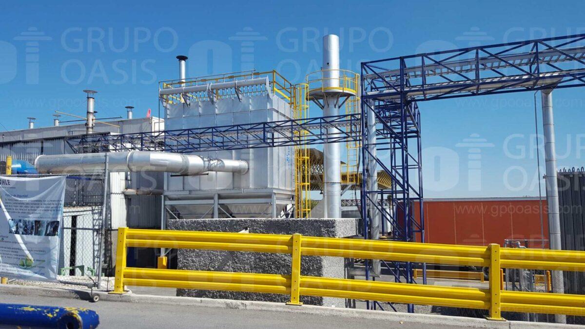 colectores de polvos industriales humo y neblinas refacciones sistemas de ventilación extractores industriales