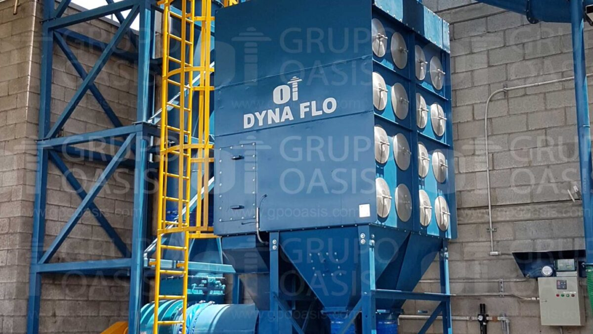 ccolectores de polvos industriales refacciones filtros Sistemas de ventilación industrial extractores industriales