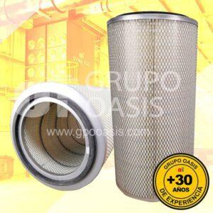 filtros y refacciones colectores industriales