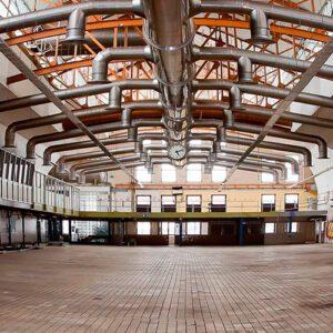 sistemas de ventilación industrial, colectores para empresas, polvos humos y neblinas