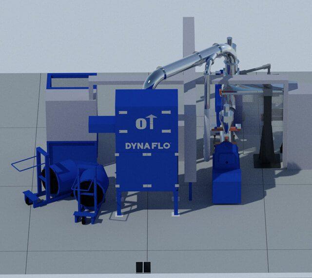 partes de un colector de polvo, Colector de Polvos Industrial, colectores en méxico, fabricación de colectores, dyna flo, sistemas industriales