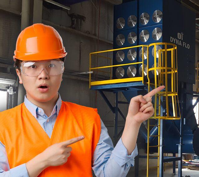 Tipos de sistemas de ventilación industrial colectores de polvo humos neblinas