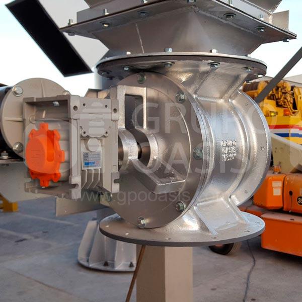 maquina industrial, sistemas de ventilación industrial, colectores de polvo, extractor de polvo, dyna flo, oasis méxico, grupo oasis