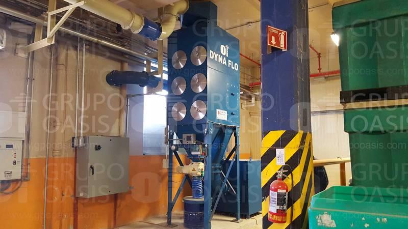 Sistemas de ventilación industrial refacciones extractores industriales