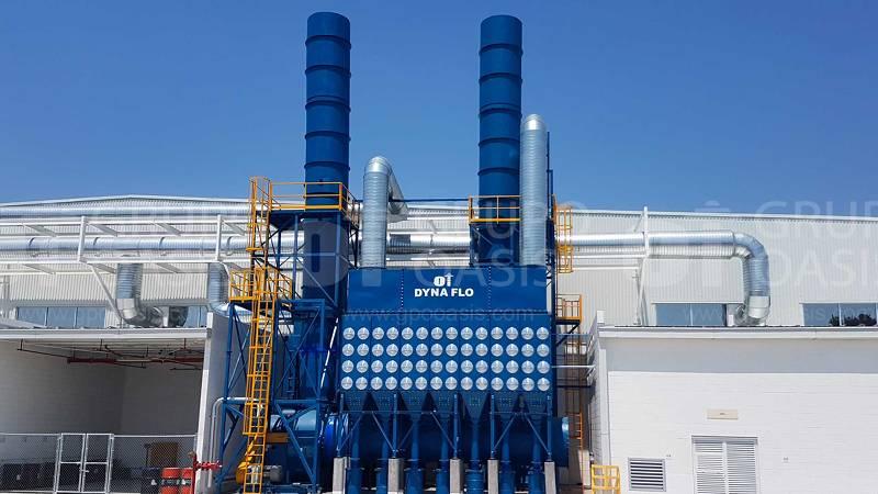 colectores de polvos industriales humo y neblinas filtros extractores industriales