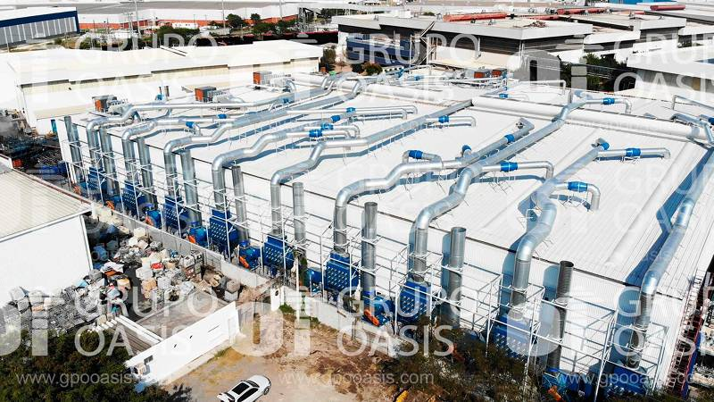 Colectores de polvo humos y neblinas filtros refacciones Sistemas de ventilación industrial Ventilador centrífugo