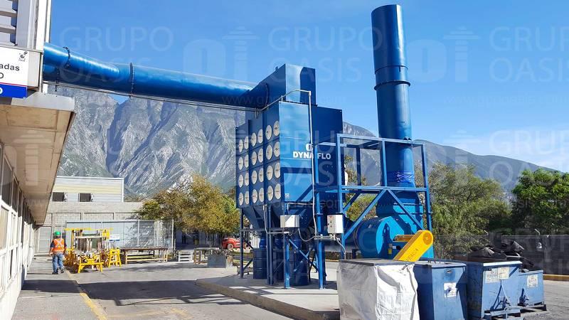colectores de polvos industriales humo y neblinas refacciones filtros Sistemas de ventilación industrial extractores industriales