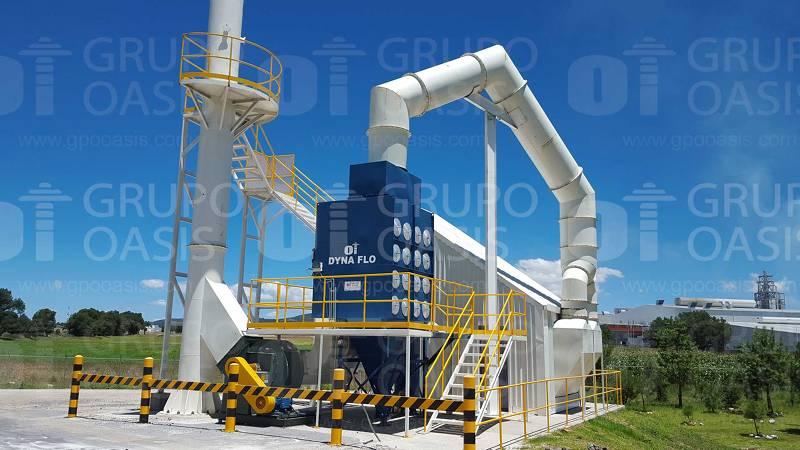 colectores de polvos industriales humo y neblinas filtros refacciones Sistemas de ventilación industrial extractores industriales