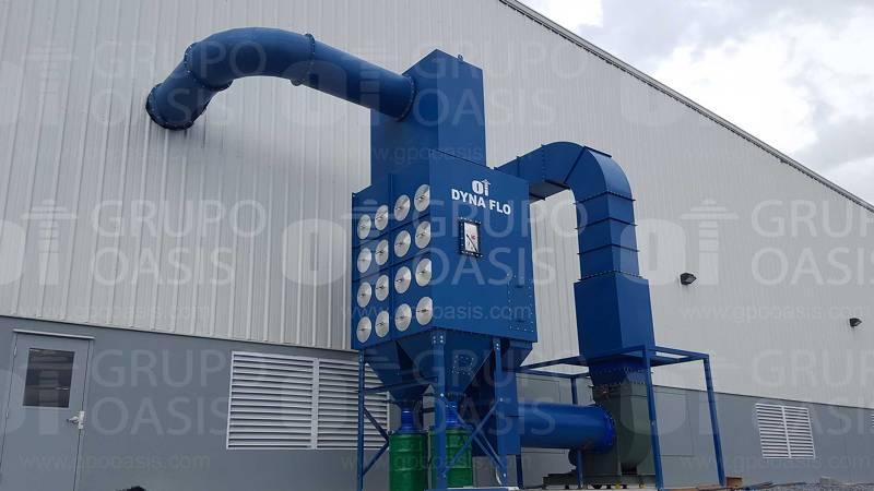 Colectores de polvos industriales humos neblinas sistemas de ventilación Ventilador centrífugo