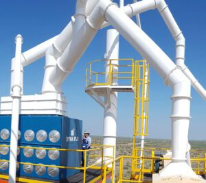 ahorro de energía en la empresa, colectores de polvos, humos y neblinas