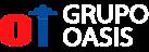 grupo oasis logo blanco